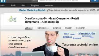 El grupo de GranConsumoTv en LinkedIn supera los mil integrantes
