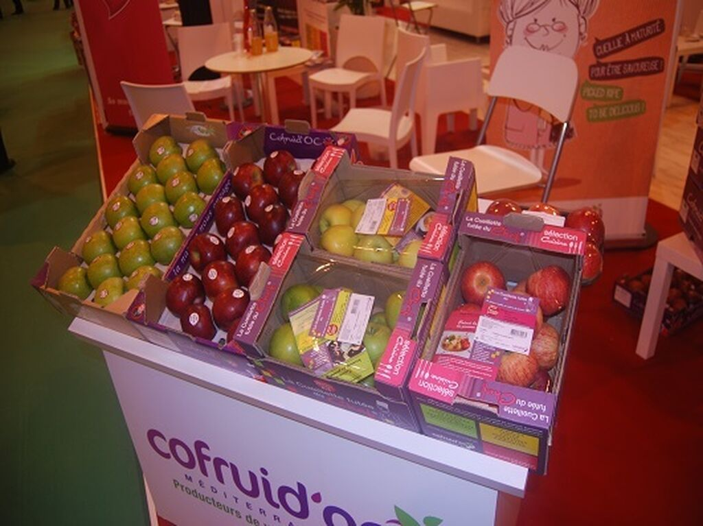 Manzanas de todas las clases y por doquier en Fruit Attraction