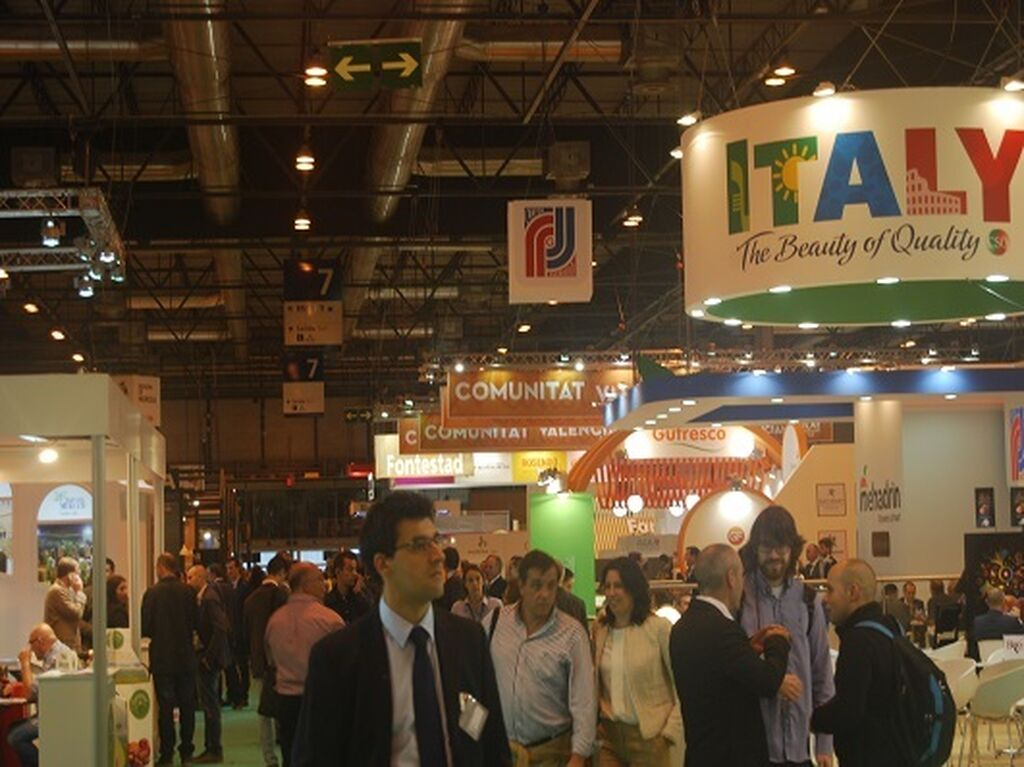 La participación internacional gana en importancia en cada edición de Fruit Attraction
