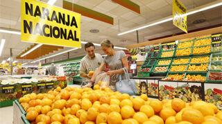 La naranja española, protagonista en Mercadona