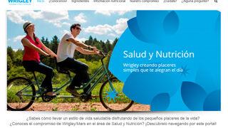 Nuevo portal de Wrigley en España sobre salud y nutrición