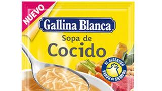 Nueva Sopa de Cocido Gallina Blanca, con receta tradicional