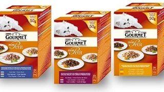 Purina lanza su nueva gama Gourmet Mon Petit para gatos
