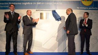Lidl inaugura su plataforma logística de Lorquí (Murcia)