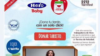 'Tarritos de felicidad', nueva campaña solidaria de Hero Baby