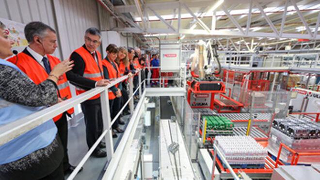 Eroski automatiza la planta logística de Elorrio