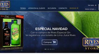 Rives abre su tienda online de destilados