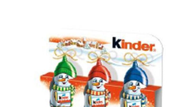 Kinder luce ocho formatos esta Navidad