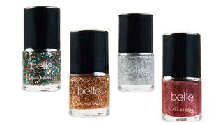 Nuevas lacas de uñas para Navidad All That Glitters de belle&MAKE-UP