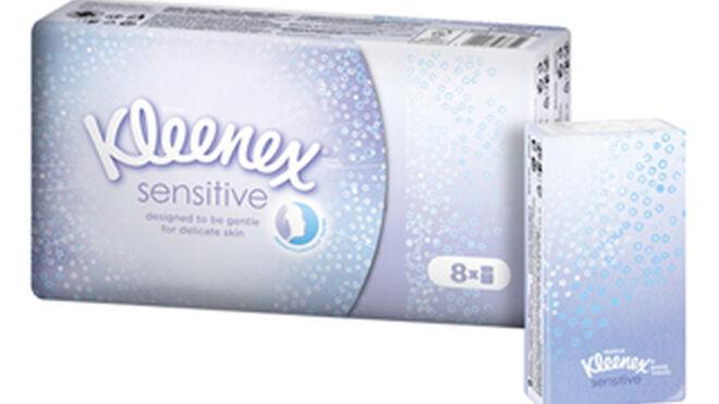 Kleenex lanza su nueva gama Sensitive