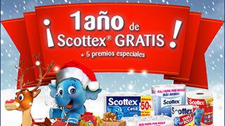 Scottex regala un año de productos gratis