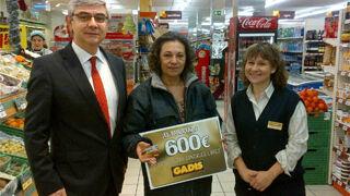 Gadis reparte cheques regalo por valor de 36.500 euros