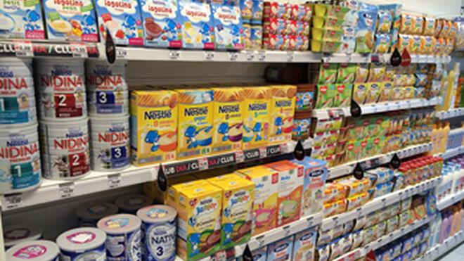 Las ventas de alimentación infantil bajan el 2,79% en 2014