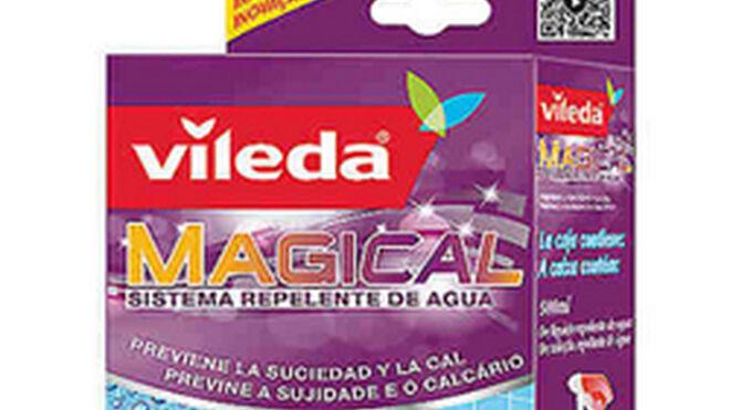 Vileda Magical, un kit de bayeta y químico que previene la cal