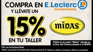 E.Leclerc Majadahonda y Midas renuevan su colaboración