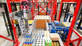 Schaefer Case Picking prepara los envíos de forma automática
