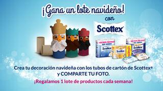 Scottex regala un lote de productos cada semana