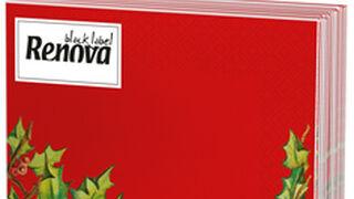 Los españoles gastan el 30% más en servilletas de papel en Navidad