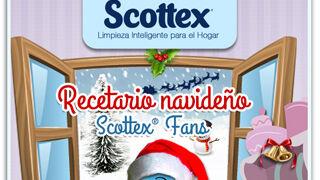 Scottex presenta un libro de recetas navideñas