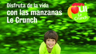Manzanas Le Crunch lanza su campaña promocional 2015