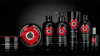 Amapola Smoky Poppy, nueva línea corporal The Body Shop
