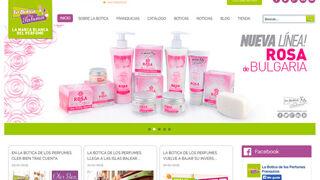 La Botica de los Perfumes estrena el año con nueva web