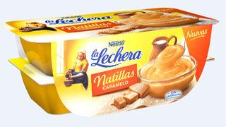 La Lechera presenta sus natillas sabor caramelo