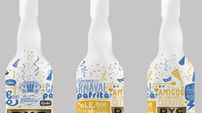 DYC viste a sus botellas de Carnaval