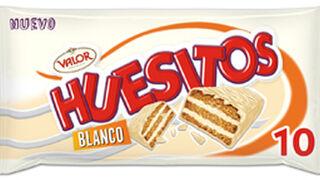 Chocolates Valor presenta Huesitos Blanco