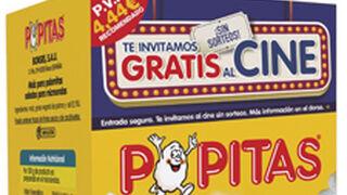 Popitas lanza una campaña para promocionar el cine