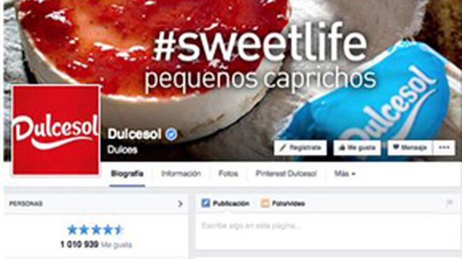 Dulcesol alcanza el millón de fans en Facebook
