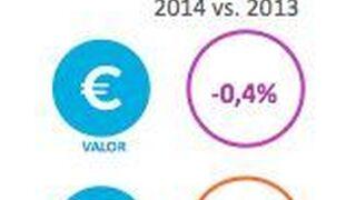 Los españoles compraron más por menos dinero en 2014
