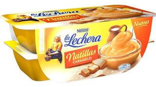 La Lechera lanza sus natillas sabor caramelo