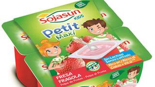 Sojasun lanza el primer petit 100% vegetal para niños