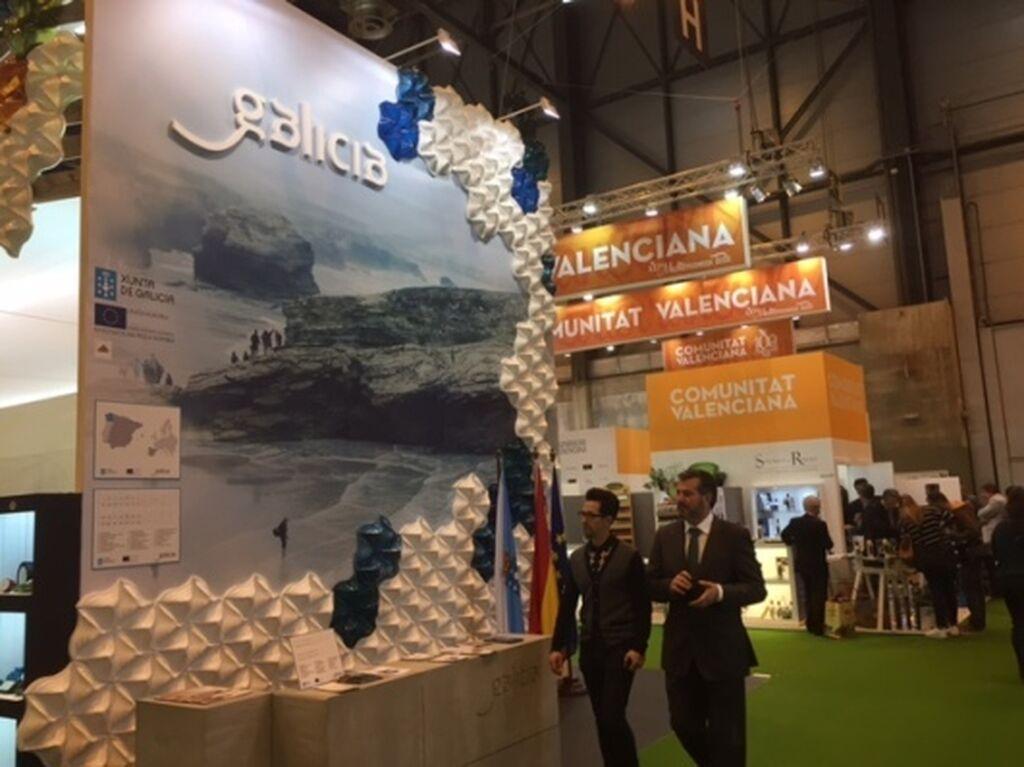 Galicia expone los productos agroalimentarios de la comunidad en su stand