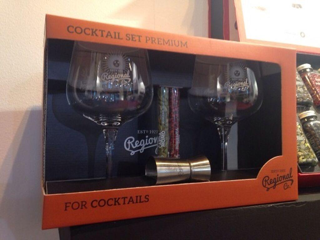 Set premium para cocktail de Regional