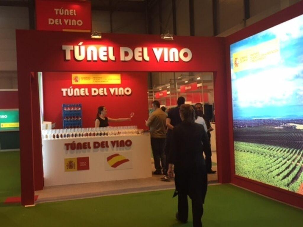 El túnel del vino, un boulevard de cata de los mejores caldos