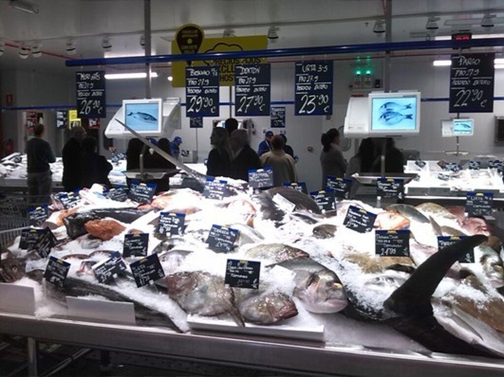 Amplia variedad de pescado (180 referencias diarias)