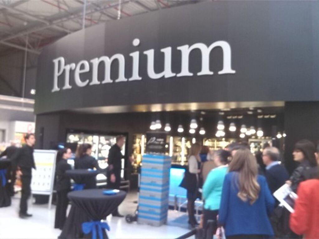 Dispone de zona Premium, con productos innovadores y especializados
