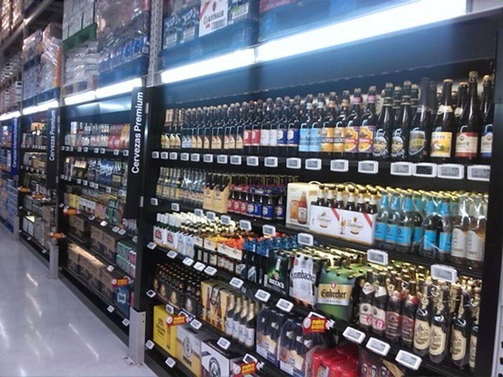 Lineal de cervezas premium