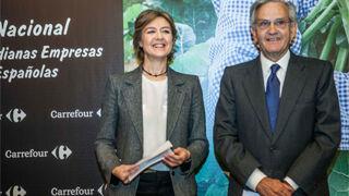 Carrefour gastó 7.500 millones en compras a firmas agroalimentarias españolas