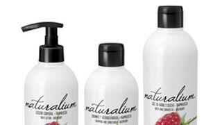 Naturalium presenta su gama de cuidado corporal con olor a frambuesa