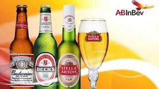 La cervecera AB InBev ganó el 62% más en el primer trimestre
