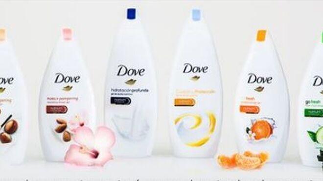 Dove lanza una gama de geles de ducha más nutritivos