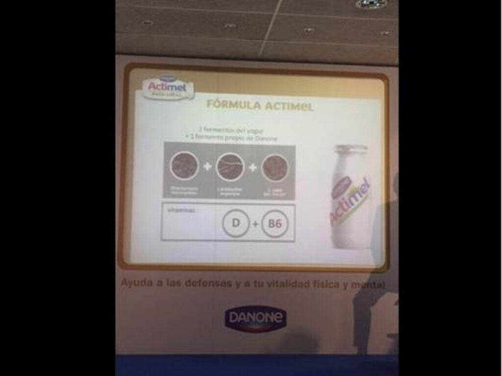 Fórmula Actimel: dos fermentos del yogur más un fermento propio de Danone