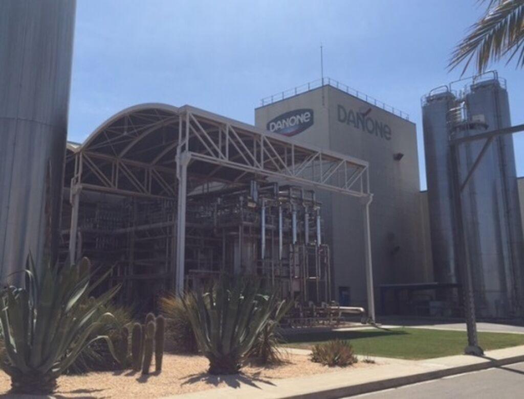 Instalaciones de Danone en Aldaia (Valencia). Una de las fábricas más modernas y competitivas del grupo en Europa