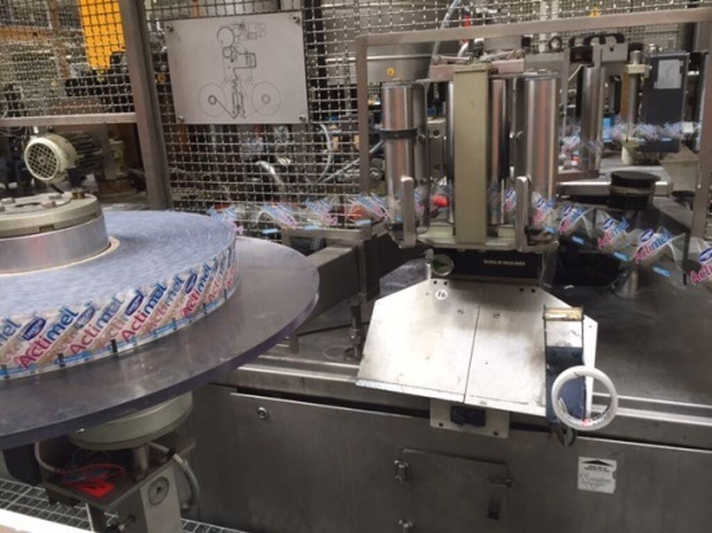 Máquina de etiquetado del producto