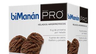 BiManán Pro lanza sus helados hiperprotéicos