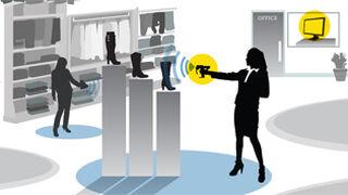 La tecnología RFID de Tyco gana terreno entre los minoristas