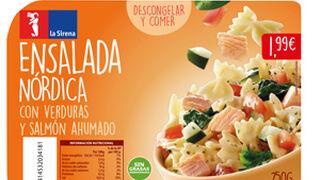 La Sirena lanza cuatro ensaladas preparadas para el verano